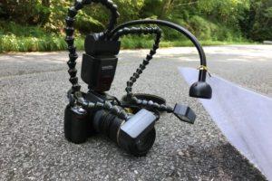 KX-800を搭載した一眼レフカメラ